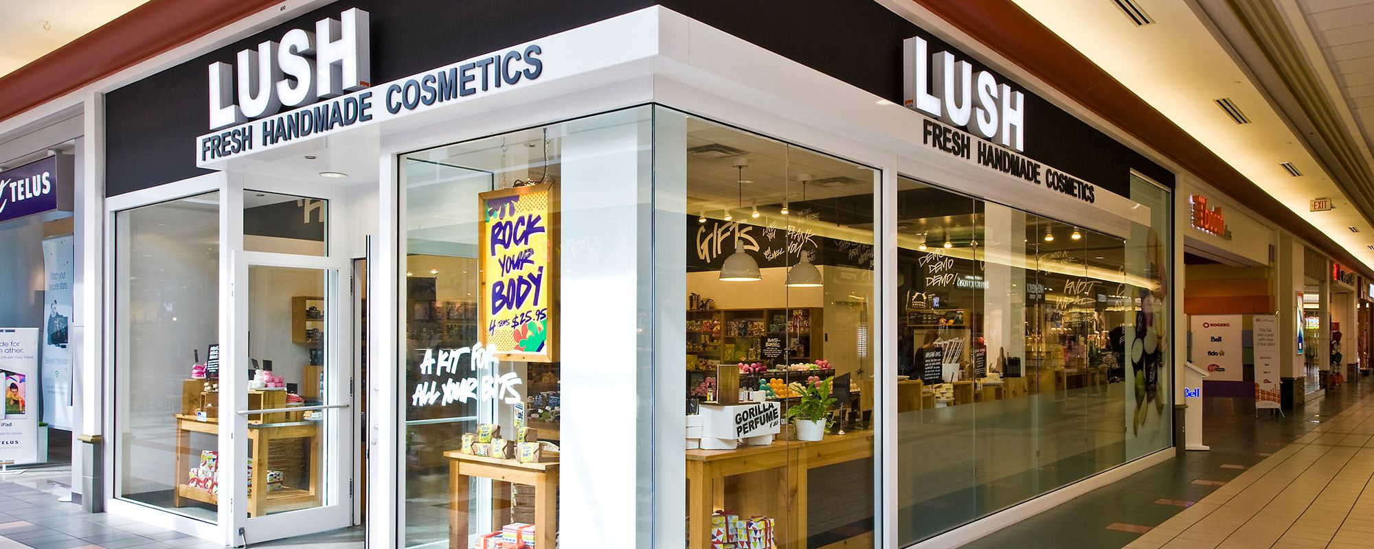Lush Cosmetics Renovation