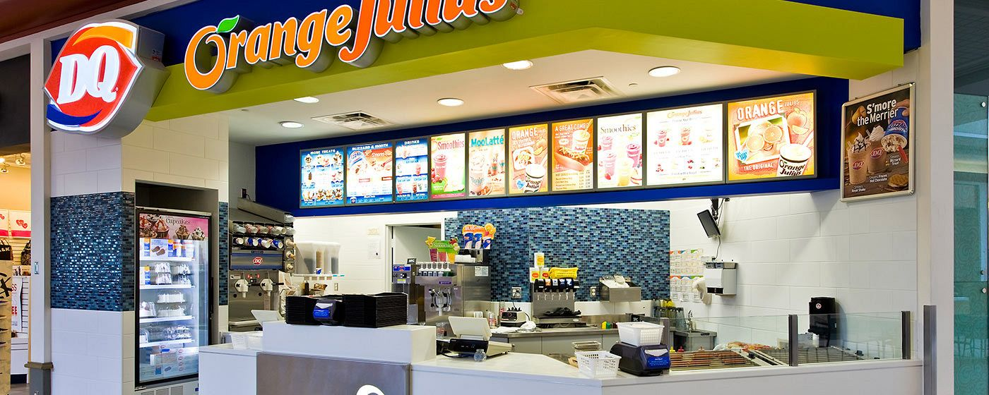 Orange Julius / Dairy Queen Renovation